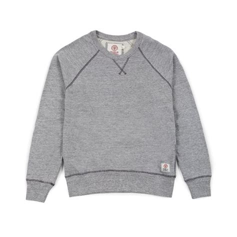 Marshall Raglan franklin marshall raglan crewneck fleece sport grey