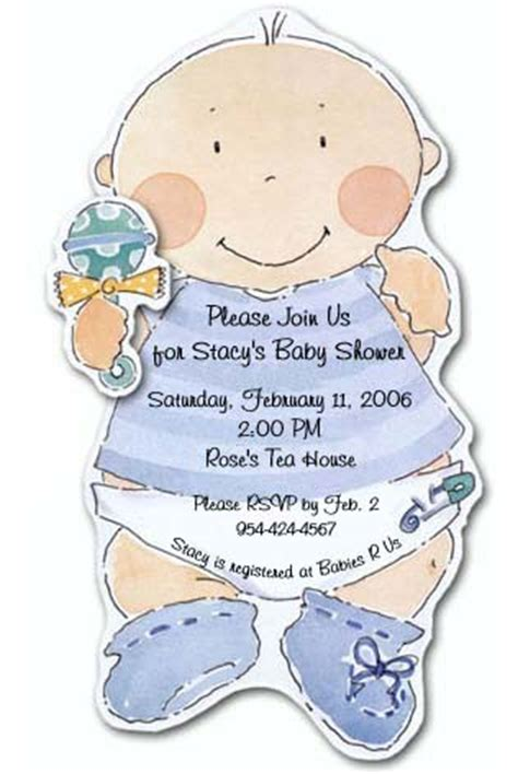 for a baby shower boy ideas of baby shower invitations for boys baby shower