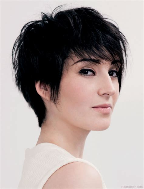 feminine short haircuts for boys feminine and fashionable short haircut with lift in the roots