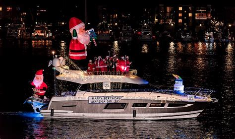 marina del rey boat parade 2017 where are the best christmas lights in los angeles