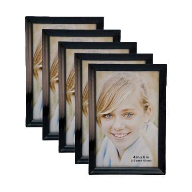 Frame Minimalis 4r Dasi jual inno foto 07845 dx hitam bingkai foto 4r 4x6 inch 5 pcs harga kualitas