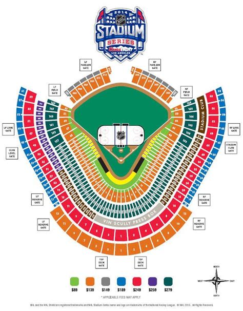 dodger stadium seating by rows nhl stadium series seating chart released for dodger