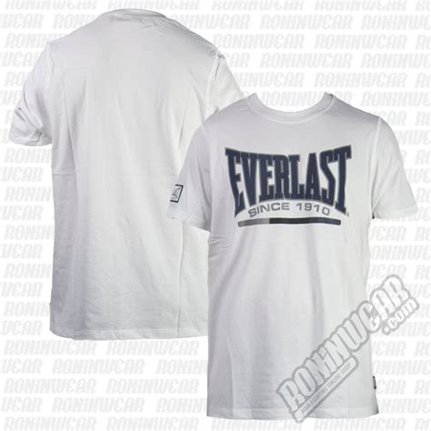 T Shirt Everlast White W3gj everlast evr4427 t shirt wei 223