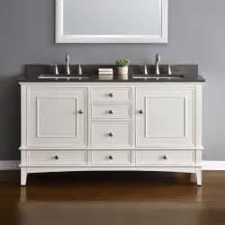 60 Hardwood Vanity Quartz 60 Quot Bathroom Vanity White Cabinet Sink Basin