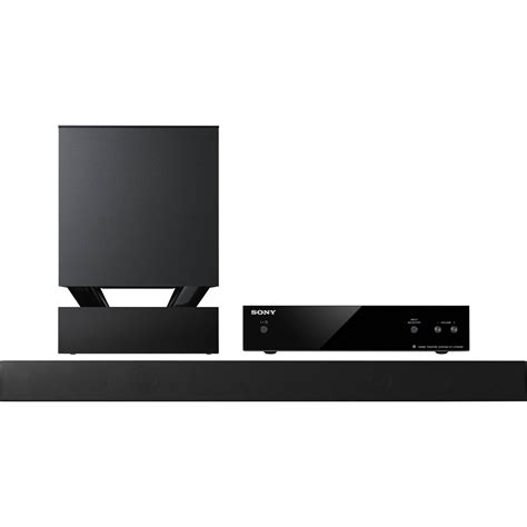sony ht ct550w0 40 quot 3d sound bar system htct550w b h photo