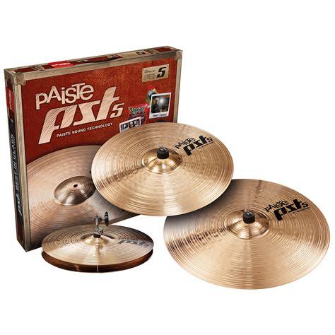 Cymbal Set paiste pst 5 universal 14hh 16c 20r 171 cymbal set