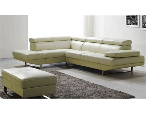 modern sectional sofa set in white finish 33ls21