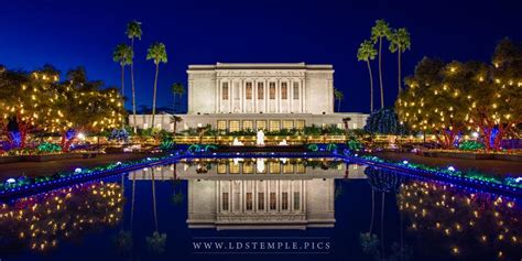mesa temple christmas lights panoramic lds temple pictures