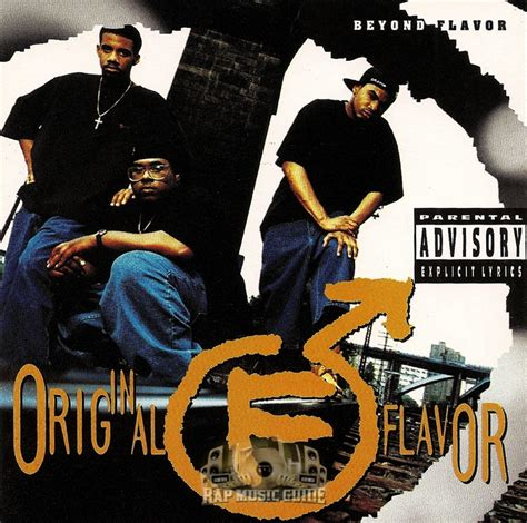 original flavor beyond flavor cd rap guide