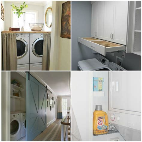 Utility Closet Organizers by 15 Laundry Closet Ideas To Save Space And Get Organized