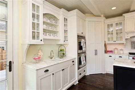 White Corner Kitchen Cabinet by Design Ideas And Practical Uses For Corner Kitchen Cabinets