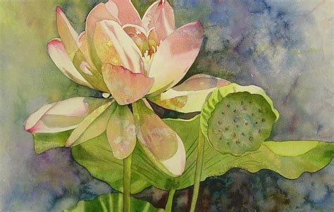lotus painting by marlene gremillion