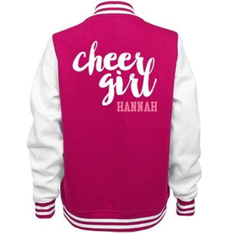 design cheer jacket custom cheer girl jacket