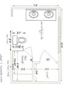 5 x 9 bathroom floor plans 1000 images about bathroom layouts on pinterest master bathrooms master bath and floor plans