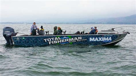willie guide boats summer chinook fishing guides total fisherman