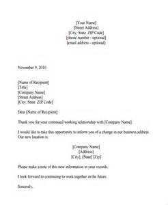 letter sample 187 announcement letter sample format free