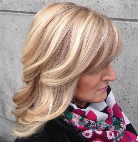 blow dry hairstyles for women over 50 80 best modern haircuts hairstyles for women over 50