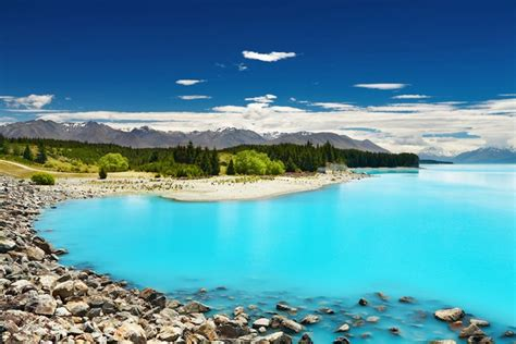 Blue Wallpaper Nz | sept lacs magnifiques en nouvelle z 233 lande