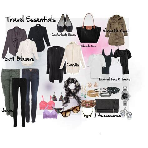 Travel Wardrobe Essentials by Pin By Redfield On Travel