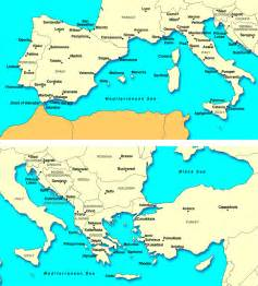 South Europe Map by Southern Europe Images