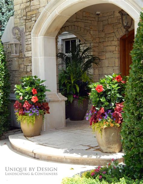 442 Best Images About Flower Pots On Pinterest Gardens Front Porch Planter Ideas