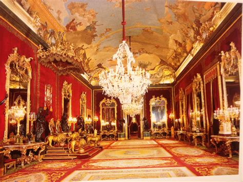 Palacio Real Madrid Interior by Palacio Real De Madrid A Traveler S