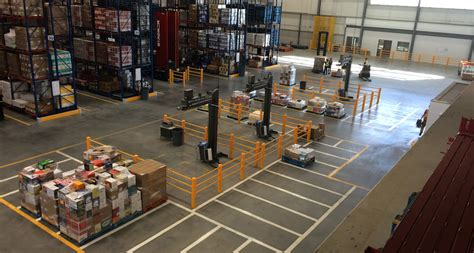 warehouse layout training distribution center layout mccue corporation