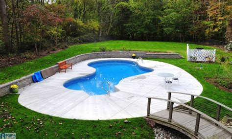 Inground Pools For Small Yards | pictures of inground pools in small backyards 28 images