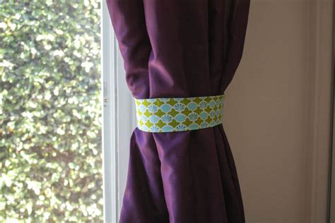 curtain fabric tie backs 64 diy curtain tie backs guide patterns