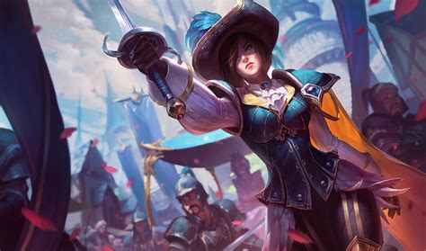 fiora ad royal guard fiora league of legends lol chion skin