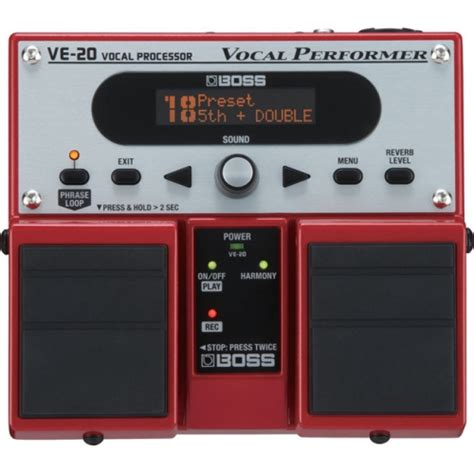ve 20 vocal pedal harmonizer from the cellar
