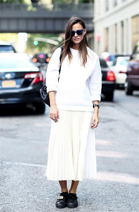 fall whites pleated skirt white midi skirt midi skirt