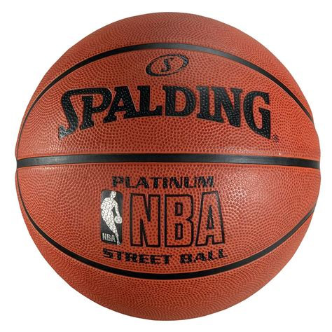spalding nba basketball spalding nba platinum street basketball