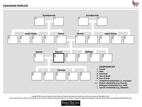 best photos of four generation genogram template