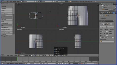blender tutorial game character blender tutorial making a low poly model of a character