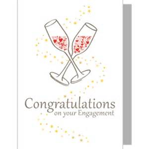 Congrats Engagement Card Congratulations On Your Engagement Greeting Card