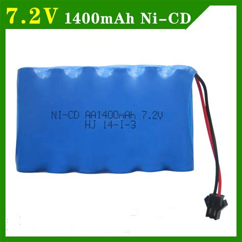 Battery Ni Cd Aa 1400mah 9 6v popular 7 2v nicd battery buy cheap 7 2v nicd battery lots