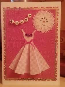 sweet 16th birthday card craft ideas birthday cards