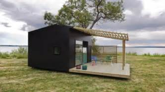 flat pack homes usa flat packed mini house takes two days to install