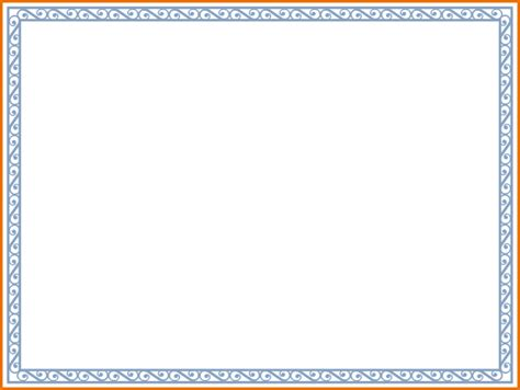 doc 564414 free certificate borders templates for word