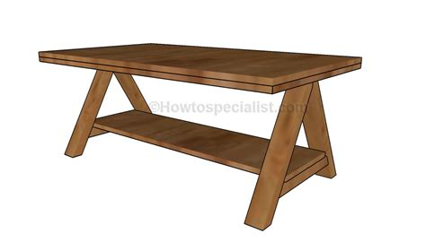 how to make a coffee table howtospecialist how to