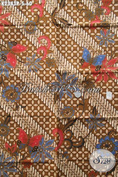 Kain Batik Print Modern Parang Bunga batik bahan blus batik kain model klasik untuk kemeja
