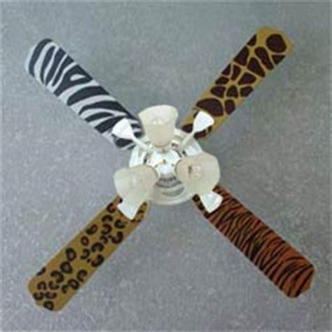 zebra print ceiling fan print ceiling fan