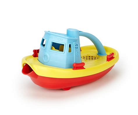 toy boat store green toys tugboat made safe in the usa