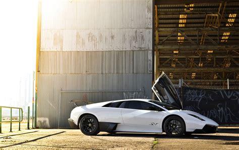 Lamborghini Aventador Weiß by Wei 223 Lamborghini Murcielago Sv Hintergrundbilder Wei 223