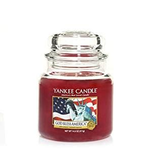 Candle Company Bless Your by Yankee Candle 14 5 Oz Medium Housewarmer Jar Candle God