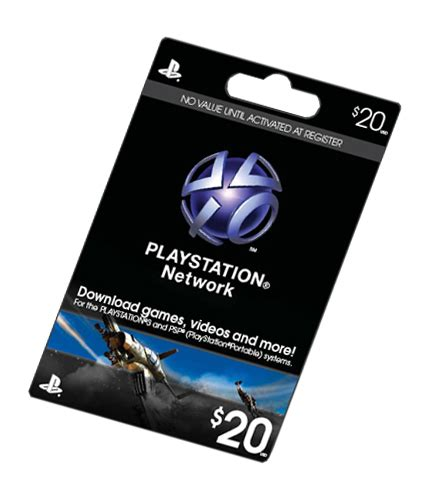 Playstation Store Gift Card Deal - 25 off on 20 psn cards and 1600 msp cards at quot gohasting quot