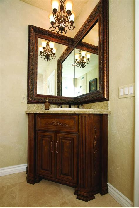 corner mirrors for bathrooms best 25 corner bathroom vanity ideas on pinterest