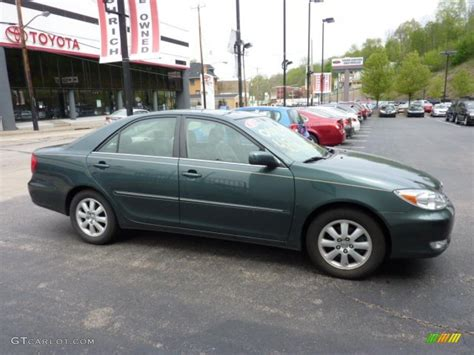 2003 toyota camry xle v6 aspen green pearl 2003 toyota camry xle v6 exterior photo