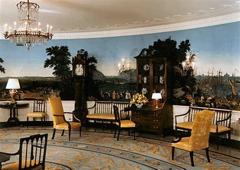 white house diplomatic room inside the white house abode